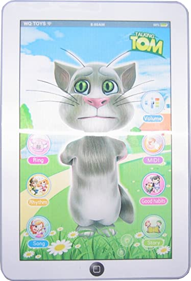 83975b23653a5 Buy Catterpillar Talking Tom Interactive Learning Tablet Online at Low  Prices in India - Amazon.in