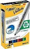 BIC Velleda 1701 Ecolutions - Caja de 4 marcadores de pizarra blanca