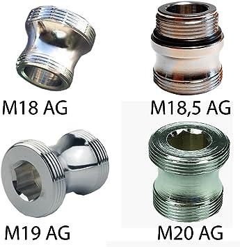 AG M18 x AG M22 Übergangsstück