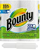 Bounty Select-A-Size, 2 x More Absorbent Paper Towels Roll, 11 x 5.9-Inches, White (262 Sheets)