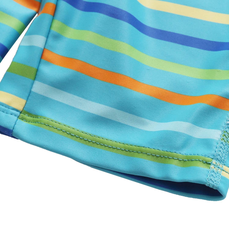 Attraco Damen Bademode UV-Schutz Langarm Shirt Rash Guard Oberteil UPF 50+