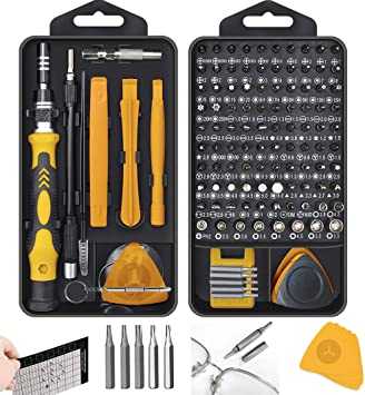 PC and Electronic Devices Precision Screwdriver Set 32 in 1 Magnetic Driver Bit Set Mini Screwdriver Set Small Screwdriver Set for Phone