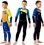 Scubadonkey 2.5 mm Neoprene Fullbody Wetsuit for Kids Boys 2020