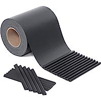 SONGMICS PVC Sichtschutzstreife Zaunfolie Windschutz