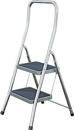 Krause Escalera 2 PELDAÑOS DE Aluminio 130860: Amazon.es: Electrónica