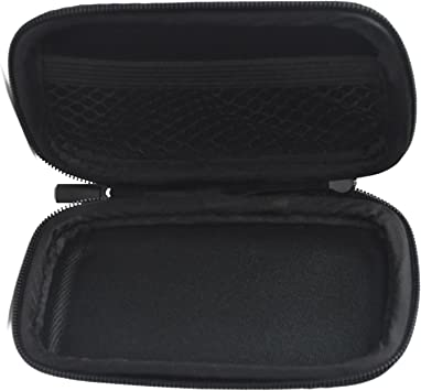 Hard Shell Mini Case for Bluetooth Wireless Ear Buds and Other Small Valuables