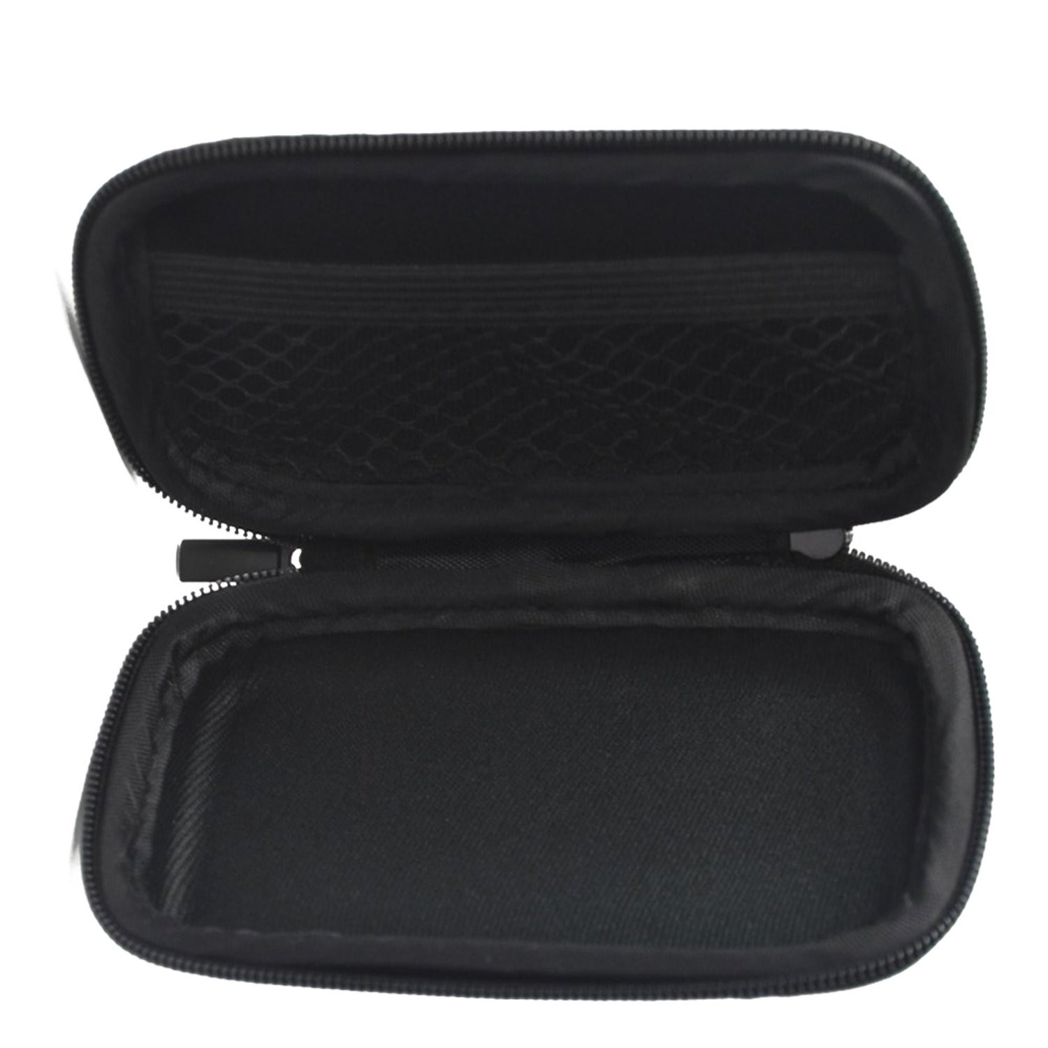 BCP Black Color EVA Hard Case for MP3/MP4 Bluetooth Earphone Earbuds na