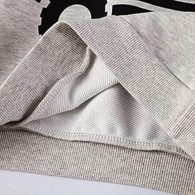 EULLA Sweat-shirt chaud pour b/éb/é gar/çon 1-7 ans