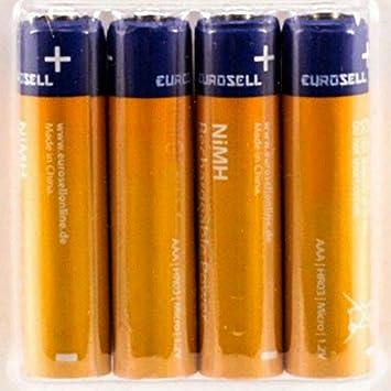 tronicxl 950 mAh 1,2 V batería Recargable AAA para Siemens Gigaset - Teléfono inalámbrico: Amazon.es: Electrónica