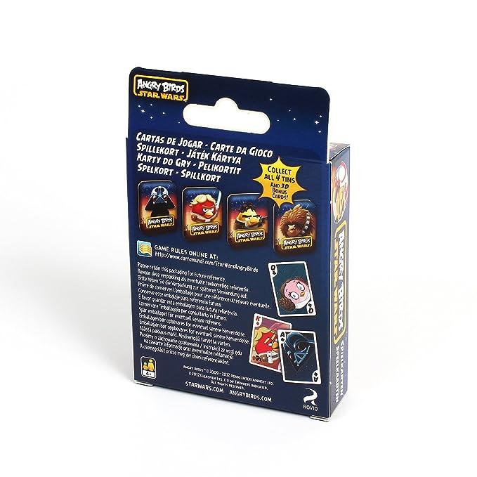 Amazon.com: Cartamundi Star Wars Angry Birds Playing Cards ...