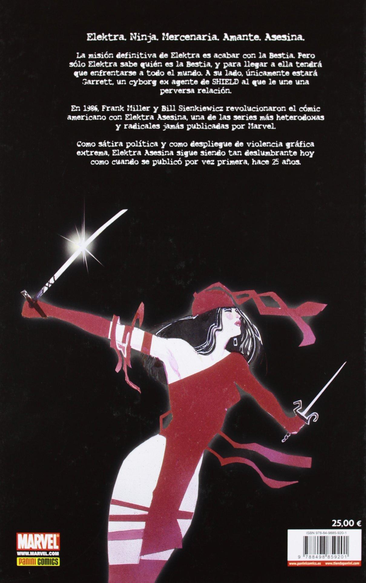 Elektra asesina: MILLER/ SIENKIEWICZ: 9788498859201: Amazon ...