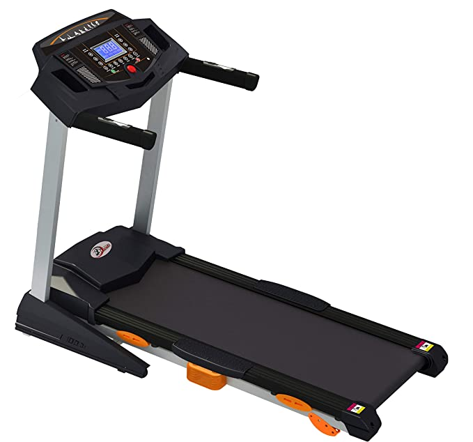 Durafit - Sturdy, Stable and Strong Heavy 2.5 HP (5.0 HP Peak) Treadmill Treadmills at amazon
