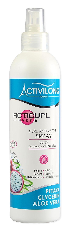 Activilong Acticurl Hydra Spray Activateur de Boucles Pitaya Glycerin Aloe Vera 250 ml