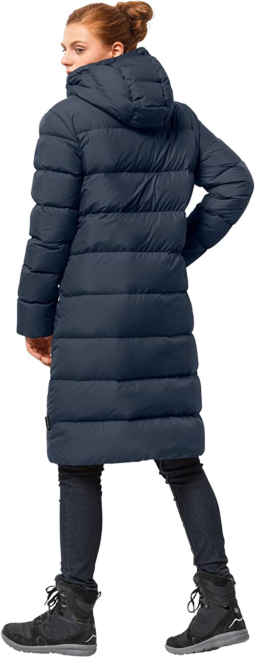 Damen Long Wolfskin Jack Crystal Palace Puffer Jacket Down rCxBedoW