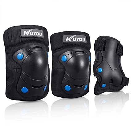 f336cabd4b942 Amazon.com : Knee Pads for Kids, Protective Gear Set Knee Pads Elbow ...