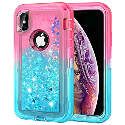 Amazon.com: Maxcury - Funda para iPhone Xs Max, con ...