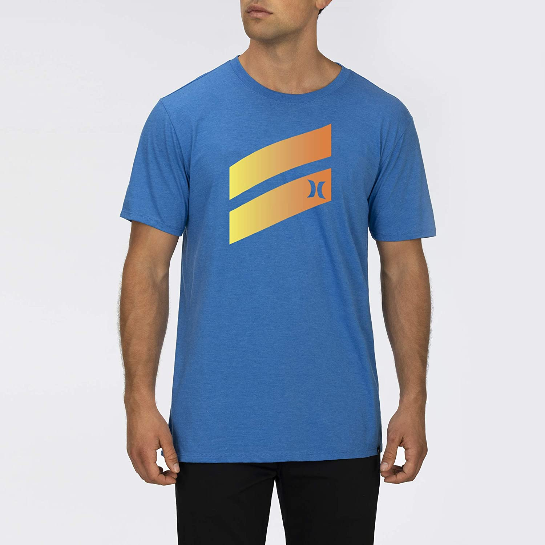 Hurley M Icon Slash Gradient S//S Tee T-shirt