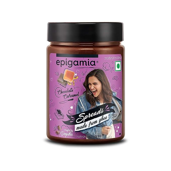 Epigamia Chocolate Caramel Spreads, 250 g