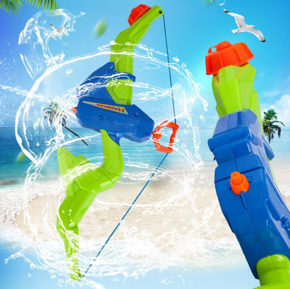 Water Gun Children Sports Fitness Toy Bow Arrow B & T Super Water Gun Soak Gun Pistol Gun 600CC Capacity Summer Party Messenger Water Shooting Pool Beach Water Children Toys Children Adults. by BT (Image #2)
