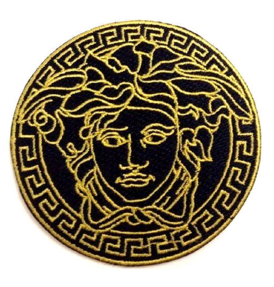 versace logo wallpaper black and gold wallpaper directory