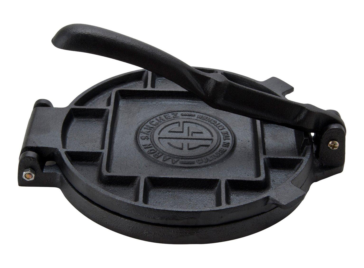 Aramco CI-12518 7'' Cast Iron Tortilla Press, Small, Multicolor