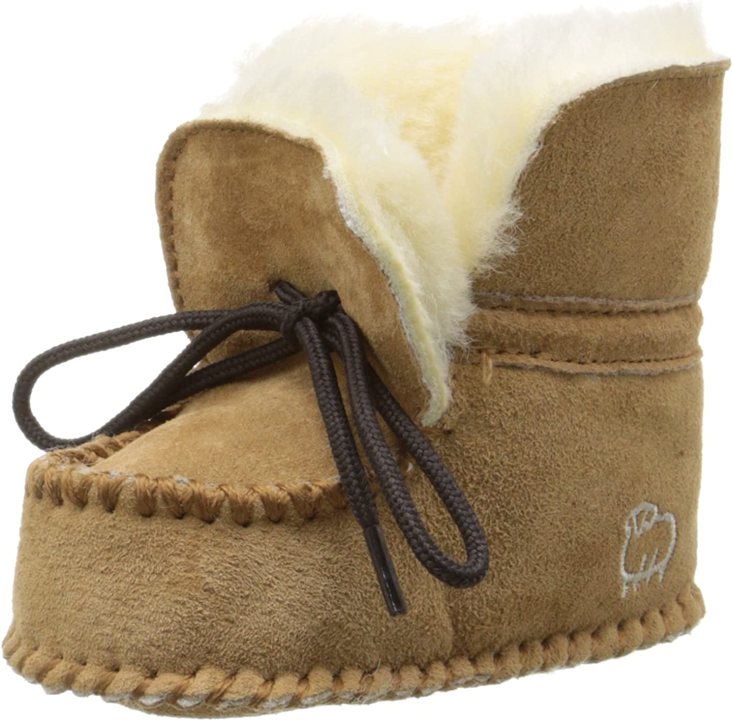 Lamo Baby Wool Lined Slip On Moccasin Toddler//Little Kid