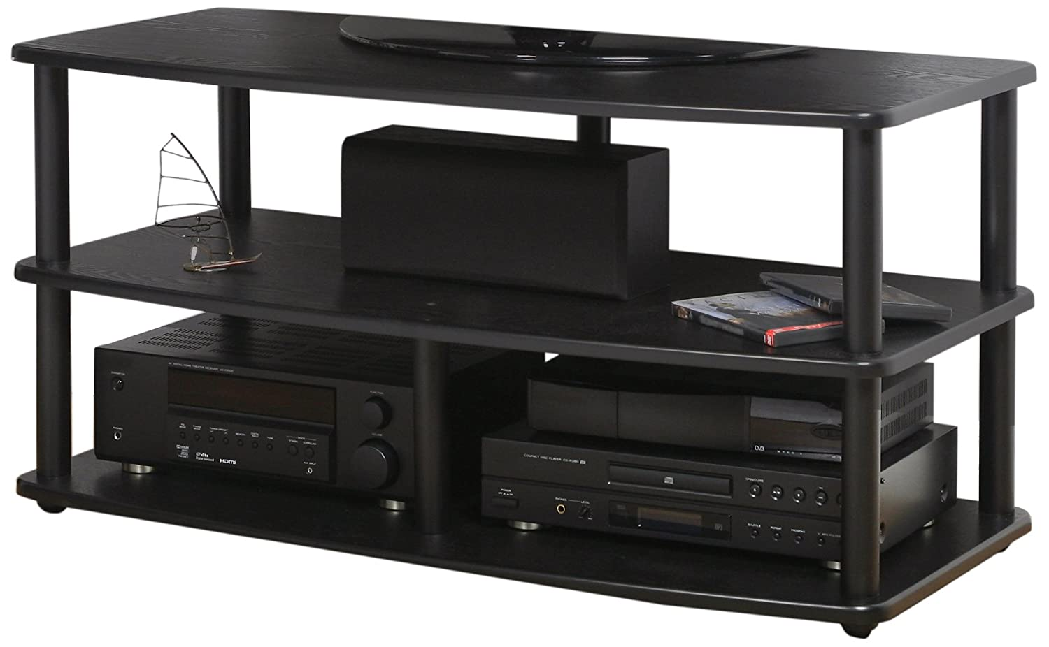 Amazon Com Plateau Se V3 42 Bb Wood And Metal Tv Stand 42 Inch