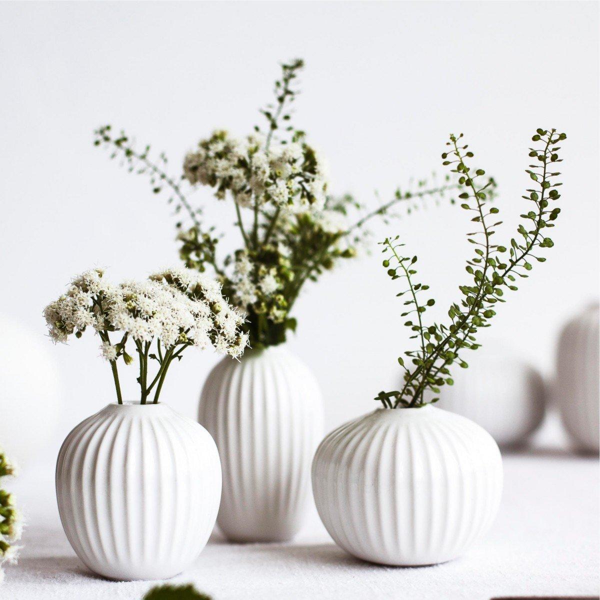 Kähler Design Mini-Vasen Hammershøi Mint-Anthrazit-Petrol (3-teilig) (3-teilig) (3-teilig) B06XDX48G6 Vasen 0b4df1