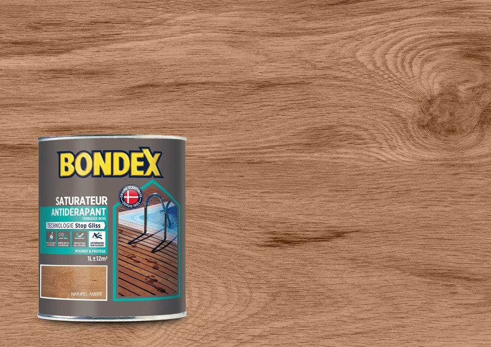 Saturateur Anti-Dé rapant Jardin, Bondex - Teck Exotique Mat, 1L PPG 364263