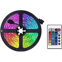 Ledstrip Fairy, van kleur veranderende ledstrip, RGB lichtstrip set met afstandsbediening, ideaal voor kamer, huis…