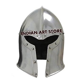 Nuevo Super Barbuta Medieval casco armadura casco romano casco de caballero LARP SCA casco