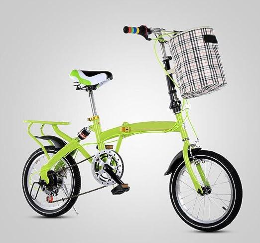 Bicicleta Plegable Bicicleta De 16 Pulgadas Con Cambio De ...