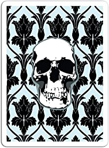"BreathNenStore Sticker Television Show Skull BBC Sherlock Tv Shows Series (3"" x 4"", 3 PCS/Pack)"