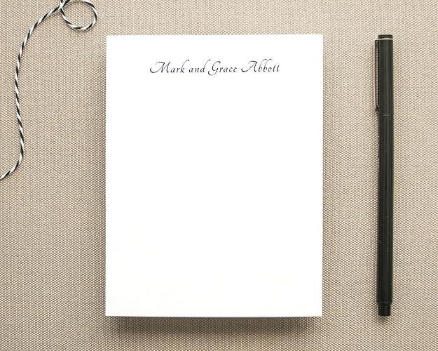 amazon com personalized elegant notepad with name women s girls