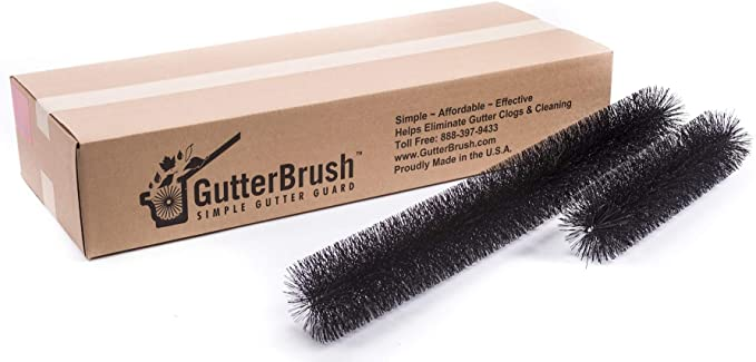 HIGHEST QUALITY GUTTER BRUSH GUARD 100mm X 4 METERS SPECIAL WINTER OFFERS!!!