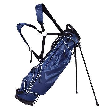 Amazon.com: GYMAX - Bolsa de transporte de golf ligera con 4 ...