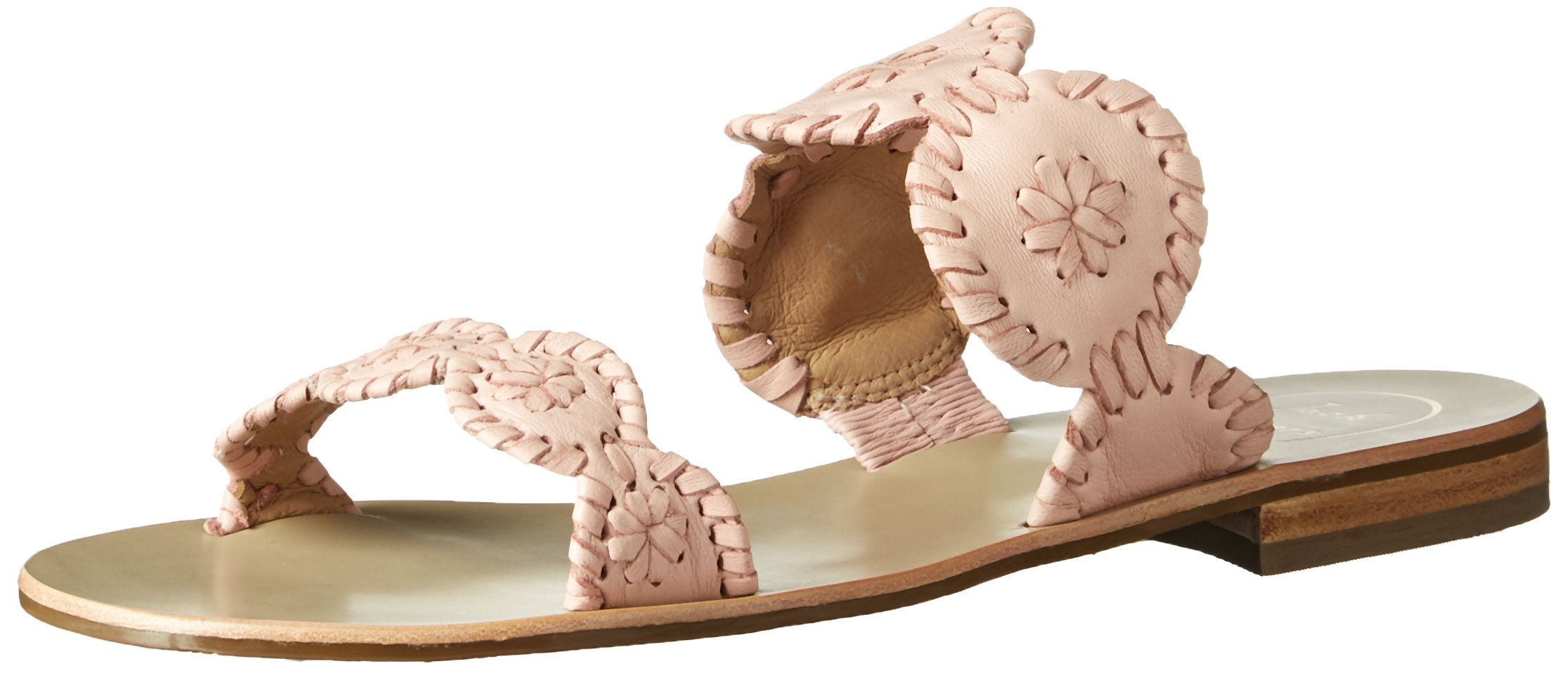 Jack Rogers Women's Lauren Dress Sandal, Blush/Blush, 9.5 M US