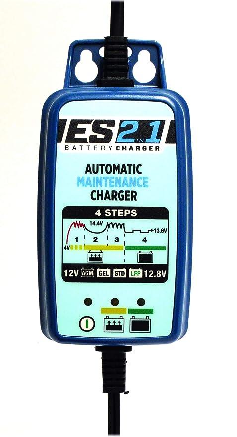 ENERGY_SAFE Cargador de batería automático con Mantenimiento de ...
