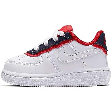 Nike Force 1 Lv8 1 Dbl (TD), Zapatillas de Baloncesto Unisex Niños ...