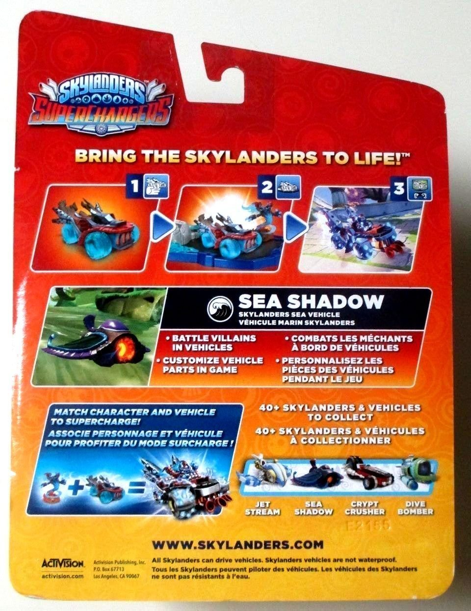 amazoncom skylanders superchargers sea shadow vehicle dark element new sealed toys games - Tous Les Skylanders