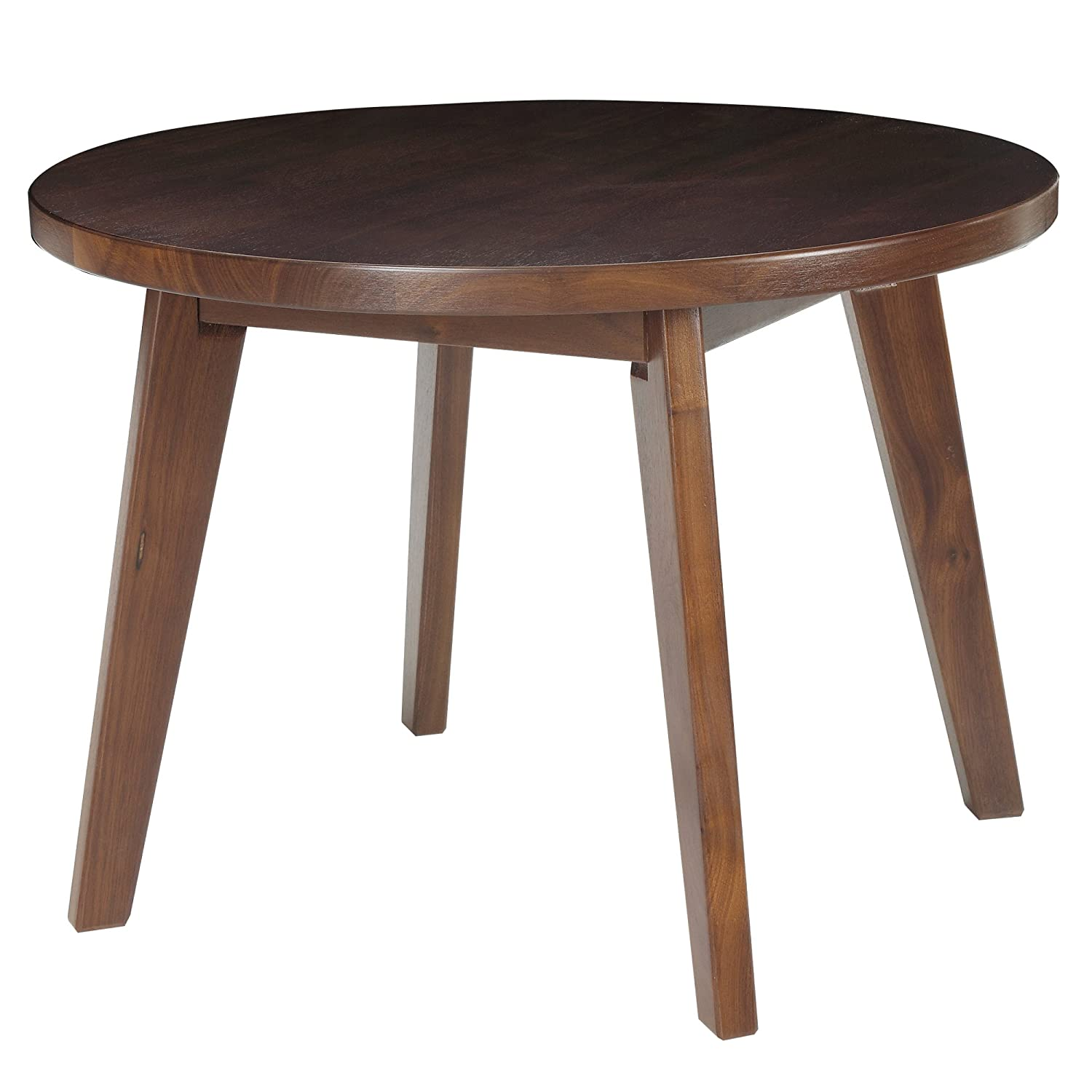 "Amazon American Trails Genuine Walnut 24"" Round Coffee Table"