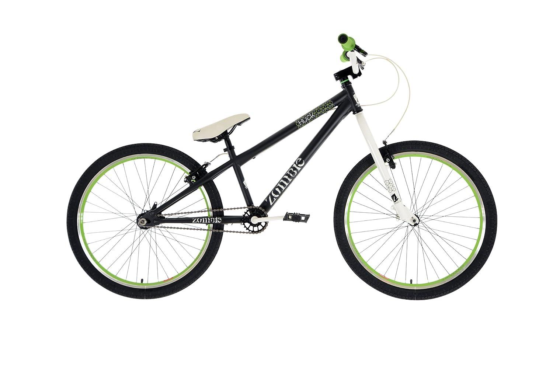 Zombie Huck Boys\' Jump Bike Black, 12\