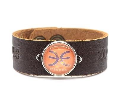 Amazon New World Idea Handmade Pisces Bracelet Zodiac Custom