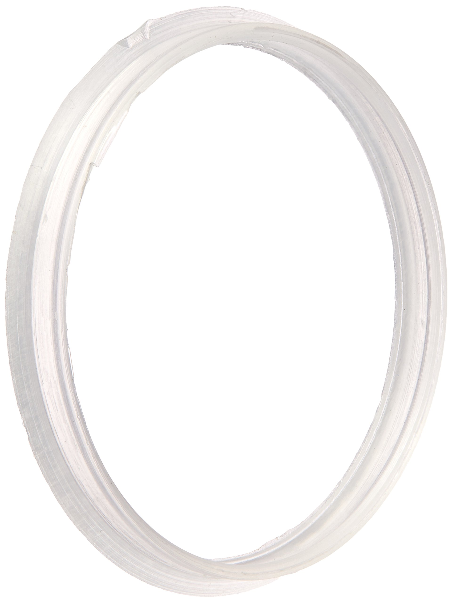 Benchmark Scientific Hybex B3000-RIN Polypropylene Replacement Sealing Ring for Media Storage Bottle, GL45 Thread Size (Pack of 10) by Benchmark Scientific