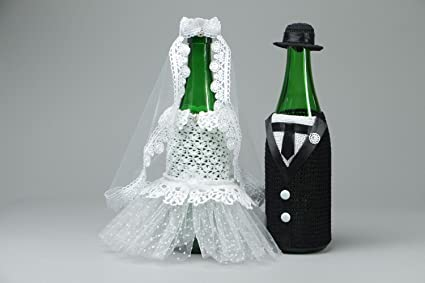 Amazon.com: Handmade Champagne Bottle Covers: Arts, Crafts ...