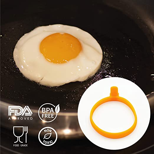 Amazon.com: Anillos de huevo de silicona de andColors para ...