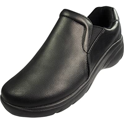 Natural Uniforms Ladies, Womens Premium Leather Clogs - Medical, Dental, Nursing Shoes - Rubber Sole: Shoes
