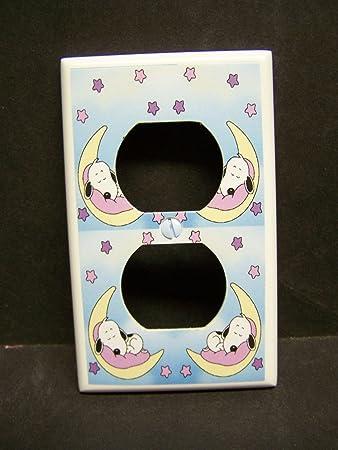 Amazon.com: Cacahuetes bebé Snoopy Outlet placa de la ...