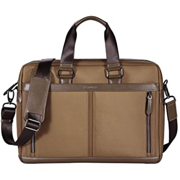 74ba79ff3 Amazon.com: Banuce Waterproof Nylon Laptop Messenger Bag for Men 15.6 inch Business  Work Tote Briefcase Slim Shoulder Attache Case: Banuce