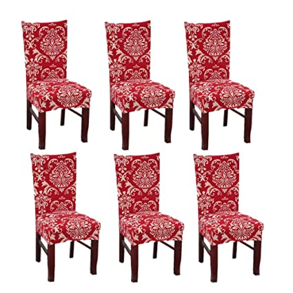 Cool Dining Chair Slipcovers Color 8 Subcluster Modern Stretch Pdpeps Interior Chair Design Pdpepsorg